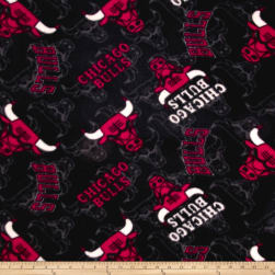 NBA Fleece Chicago Bulls Fabric