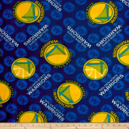 NBA Fleece Golden State Warriors Fabric