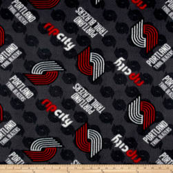 NBA Fleece Portland Trail Blazers Fabric