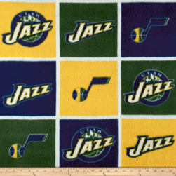 NBA Fleece Utah Jazz Fabric