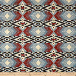 Artistry Navajo Southwest Snake River Jacquard Chambray Fabric