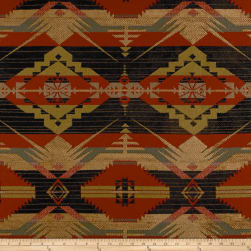 Artistry Navajo Southwest Ten Sleep Jacquard Plateau Fabric