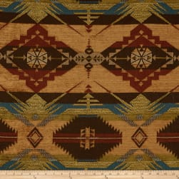 Artistry Navajo Southwest Ten Sleep Jacquard Sienna Fabric