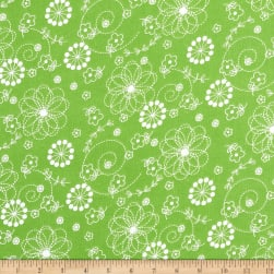 Maywood Studio Kimberbell Lil' Sprout Flannel Too! Doodles