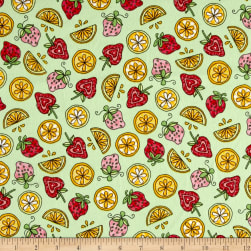 Maywood Studio Kimberbell Lil' Sprout Flannel Too! Strawberries