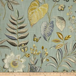 P/Kaufmann Butterfly Trail Robin's Egg Fabric