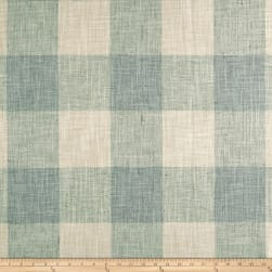 P/Kaufmann Check Please Lagoon Fabric