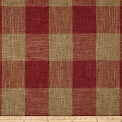 P/Kaufmann Check Please Jacquard Red PepperBasketweave