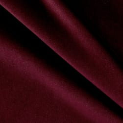 P/Kaufmann Performance Velvet Merlot Fabric