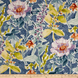 P/Kaufmann Cut Flowers Cornflower Fabric