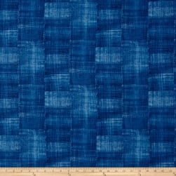 Laura Berringer Color Influence Texture Blue Fabric