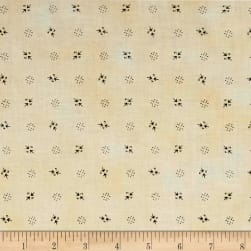 Pam Buda Prairie Shirting Ditsy Arrow Cream Fabric