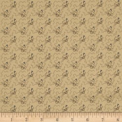 Pam Buda Prairie Shirting Elegant Tan Fabric