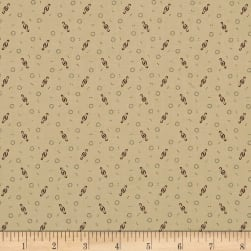 Pam Buda Prairie Shirting Ditsy Twist Beige Fabric