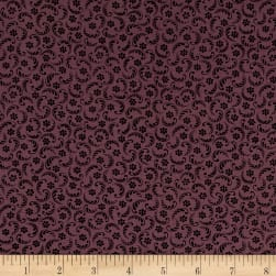 Pam Buda Prairie Basics Butter Press Purple Fabric