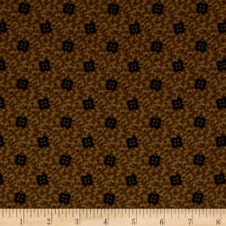 Pam Buda Prairie Basics Sun Bonnet Brown Fabric