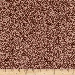 Timeworn Toolbox Wallpaper Paint Brush Red Fabric