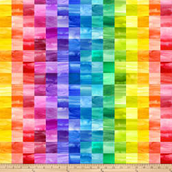 Laura Berringer Color Moods Mini Squares Bright Fabric