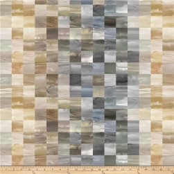 Laura Berringer Color Moods Mini Squares Neutral Fabric