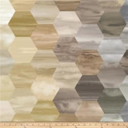 Laura Berringer Color Moods Hexies Neutral Fabric
