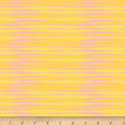 Victoria Findley Wolfe Futurum Timeline Yellow Fabric
