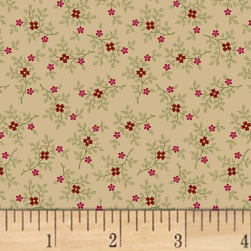 Pam Buda Pieceful Pines Tan Fabric