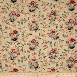 Karen Styles Bathwick Saint Ann Cream Fabric
