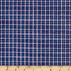 Rustic Wovens Small Check Bku/Wine/Olive Fabric