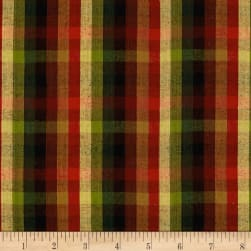 Quilitng Plaid Check Red/Fuchsia Fabric