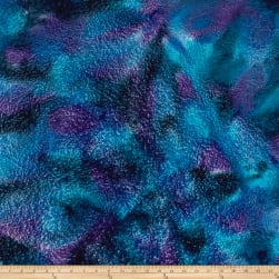 Batik Spray Blue Fabric