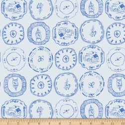 Dear Stella Royal Picnic China Plates Crystal Fabric