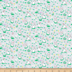 Dear Stella On The Farm Rabbits Cloud Fabric