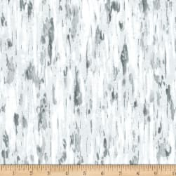 Wilmington Friendly Gathering Aspen Bark Gray Fabric