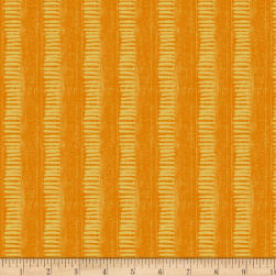 Wilmington Amber Reflections Linear Texture Orange Fabric