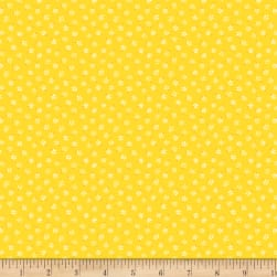 Wilmington Amorette Tiny Floral Yellow Fabric