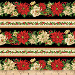 Wilmington Holiday Lane Repeating Stripe Multi Fabric