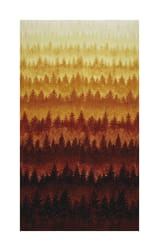 Hoffman Can't Stop Falling Tree Ombre Metallic Autumn/Gold