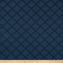 Genevieve Gorder The Belgian Jacquard Indigo Fabric
