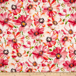 Hoffman Digital Fluttering By Floral Punch Fabric