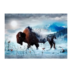 Hoffman Digital Call Of The Wild Bison 33''Panel Bison
