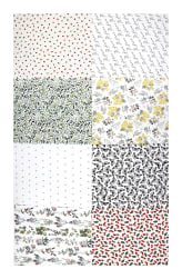 Hoffman Digital No Weeds Here Fat Quarter Multi