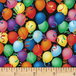 Hoffman Celebrate Balloons Multi Fabric