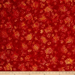 Hoffman Bali Batiks Turtles Chilies Fabric