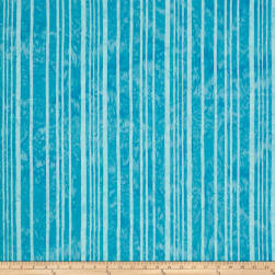 Hoffman Bali Batiks Stripes Peacock Fabric