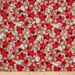 STOF France French Fantaisy Navidad Multi Fabric