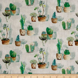 Stof France French Fantaisy Agave Multi Fabric