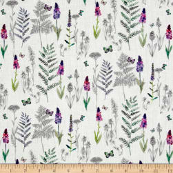 STOF France French Fantaisy Herbier Multi Fabric