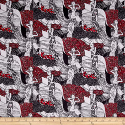 Stof France French Fantaisy Madame Multi Fabric
