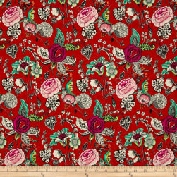 STOF France French Fantaisy Oriane Rouge Multi Fabric