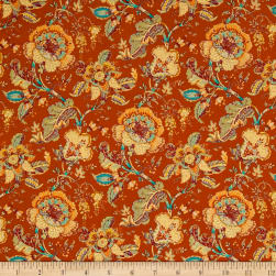 STOF France Valdrome Makayla Terracota Fabric